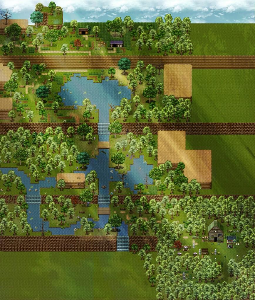 Réup du jeu, amélioration graphique montagne-verte-final